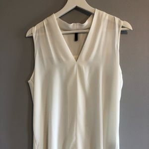 NYDJ White Sleeveless Blouse - Size S